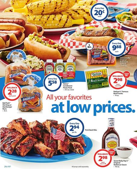 Walmart Weekly Ad May 27 2016