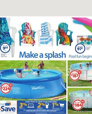 Walmart Weekly Ad Summer Waves Price May 2016