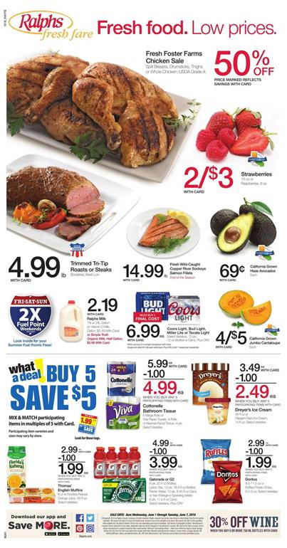 Ralphs Weekly Ad June 1-7 1