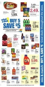 Ralphs Weekly Ad June 1-7 buy 5 save $5