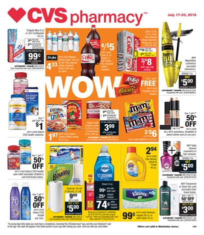 CVS Weekly Ad 7-17 - 7-23 2016 Coupon Matchups