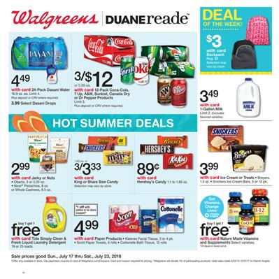 Walgreens Weekly Ad Jul 17 - Jul 23 2016