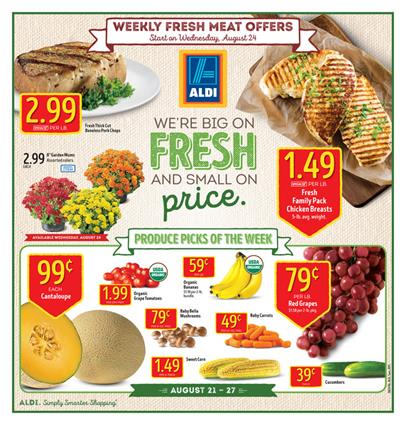 ALDI Weekly Ad Aug 21 - 27 2016