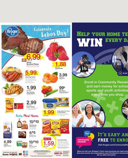 Kroger Weekly Ad Aug 31 - Sep 6 2016