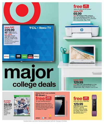 Target Weekly Ad Aug 21 - 27, 2016 Deals