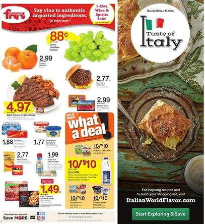 Fry's Weekly Ad September 21 - 27 2016