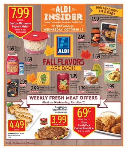 ALDI Weekly Ad Oct 12 2016