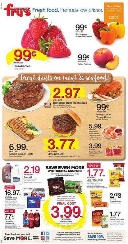 Fry's Weekly Ad Oct 5 - 11 2016
