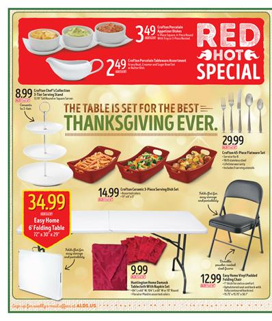 ALDI Ad November 9 2016 Weekly Meat Offers