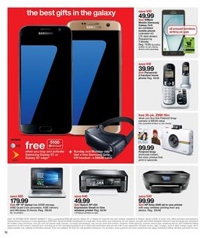 Entertainment and Electronics Video Games Phones by Target Ad pg11