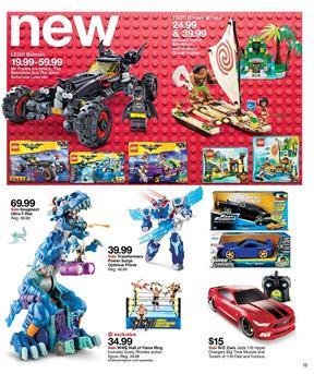 Toy Gifts and Cyber Week Deals of Target Ad