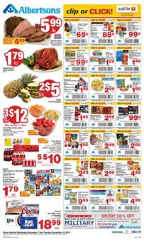 Albertsons Weekly Ad Holiday Deals Dec 7 - 13 2016