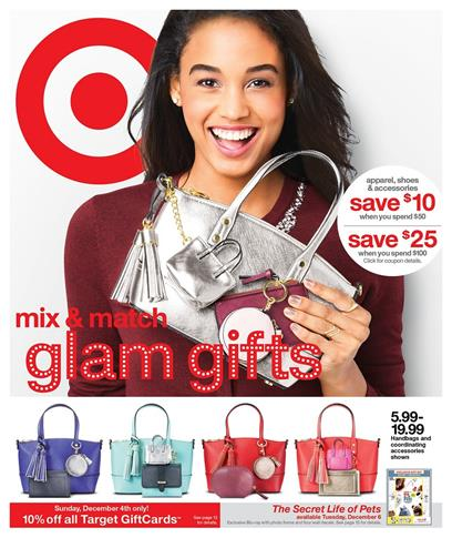 Target Weekly Ad Dec 4 - 10 2016 Holiday Deals