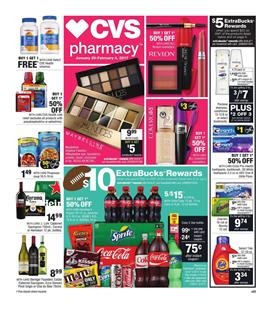 CVS Weekly Ad Super Bowl Snacks Jan 29 2017