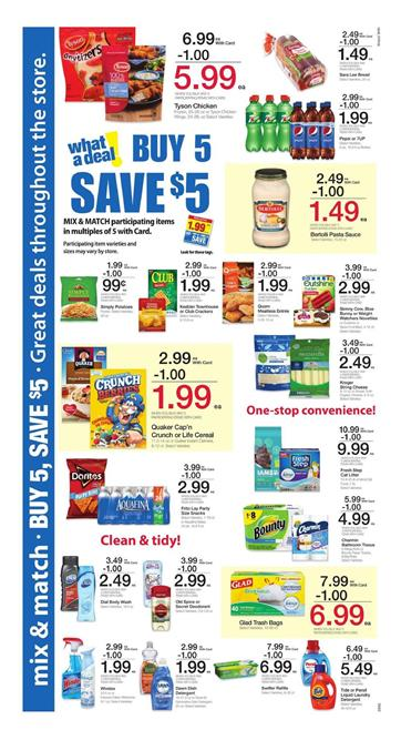 Fry's Weekly Ad Buy 5 Save $5 Deals 4 - 10 January 2017