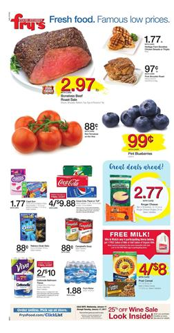 Fry's Weekly Ad Overview Jan 11 - 17 2017