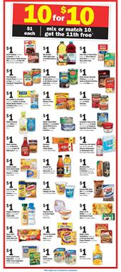 Meijer Weekly Ad 10 for 10 Sale Jan 15 - 21 2017