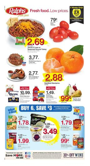 Ralphs Weekly Ad Overview Jan 18 - 24 2017