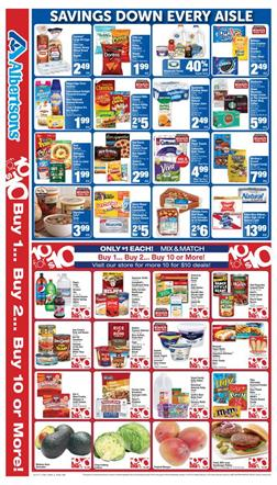 Albertsons Weekly Ad 10 for 10 Mix-Match Feb 15 - 21 2017