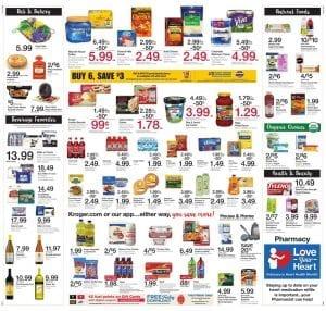 Grocery Deals Kroger Ad Feb 22 28 2017