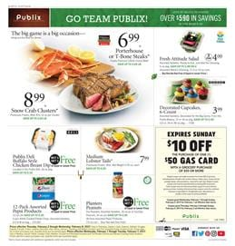 Publix Weekly Ad Snacks February 1 - 7 2017
