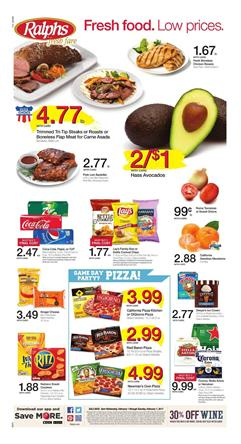 Ralphs Weekly Ad Food Deals February 1 - 7 2017
