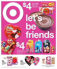 Target Weekly Ad Valentine's Day Feb 5 - 11 2017