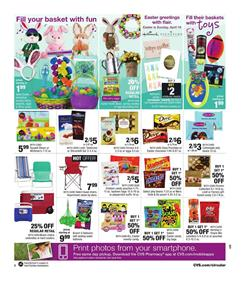 CVS Weekly Ad Easter Deals Apr 2 - 8 2017