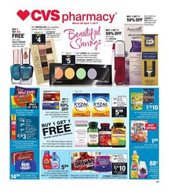 CVS Weekly Ad Grocery Mar 26 - Apr 1 2017 Easter