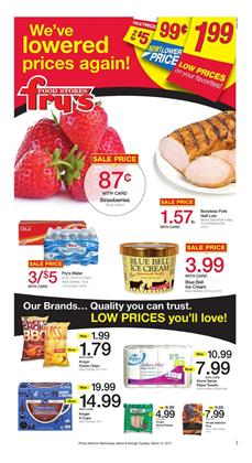Fry's Weekly Ad Low Prices Mar 8 - 14 2017