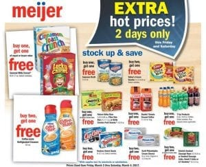 Meijer 2 Day Sale Ad Mar 3-4 2017 1