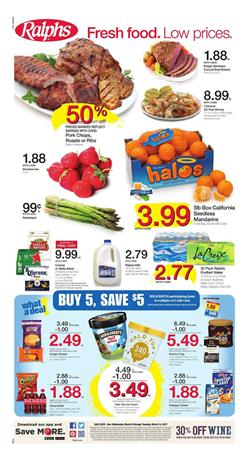 Ralphs Weekly Ad Deals March 8 - 14 2017