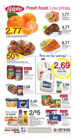 Ralphs Weekly Ad Grocery Mar 22 - 28 2017