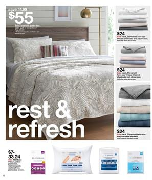 Bedroom Products Target Ad April 23 29 2017