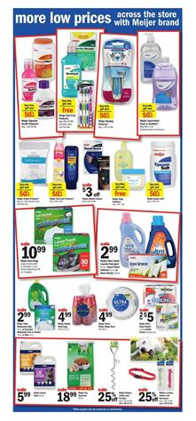 Meijer Ad Household Deals April 16 - 22 2017