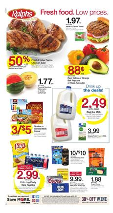 Ralphs Weekly Ad Deals April 19 - 25 2017