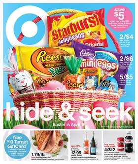 Target Weekly Ad Easter Deals April 9 - 15 2017