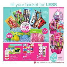 Walgreens Weekly Ad Easter April 9 - 15 2017