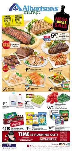 Albertsons Weekly Ad Grocery May 3 - 9 2017