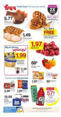 Fry's Weekly Ad Mothers Day May 10 - 16 2017