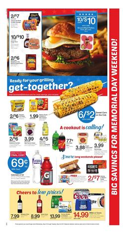 Kroger Weekly Ad Deals May 24 - 30 2017