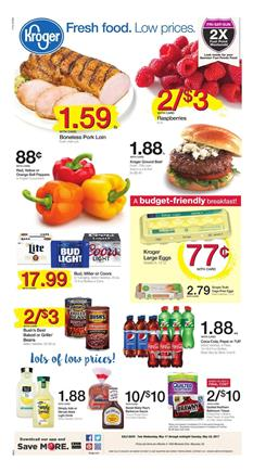 Kroger Weekly Ad Grocery May 17 - 23 2017