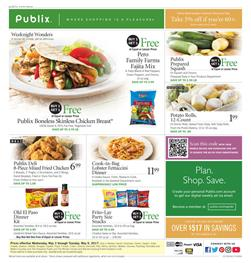 Publix Weekly Ad Fresh Produce May 3 - 9 2017