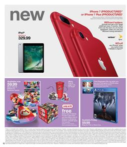 Target Ad Electronics Apr 30 - May 6 2017