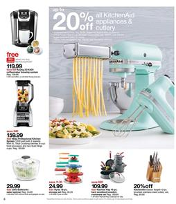Target Ad Kitchen Deals May 7 - 13 2017