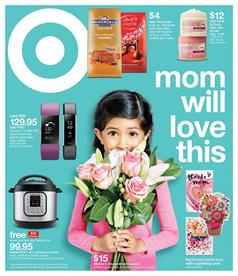 Target Ad Mothers Day Gifts May 7 - 13 2017