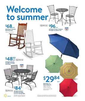 Walmart Ad Outdoor Products May 14 2017