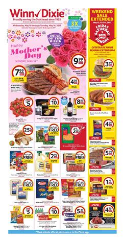 Winn Dixie Weekly Ad Preview May 10 - 16 2017