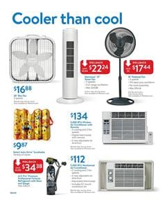 Air Conditioning Walmart Ad July 2017