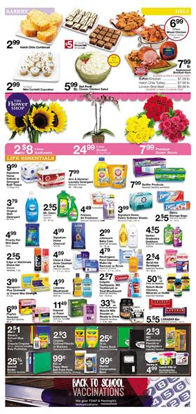 Albertsons Ad Household Deals July 25 - Aug 1 2017